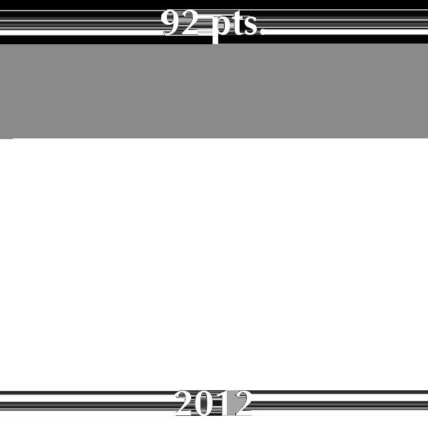 92 puntos Guía Peñín 2012 para Cava Brut Nature Cuvée Prestige