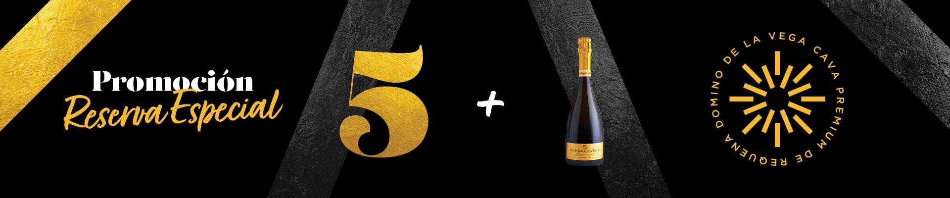 Promoción 5+1 Cava Reserva Especial